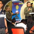 77 Chinese tourists arrested by police in 24 hours for scams, online rackets in Bangkok and Pattaya