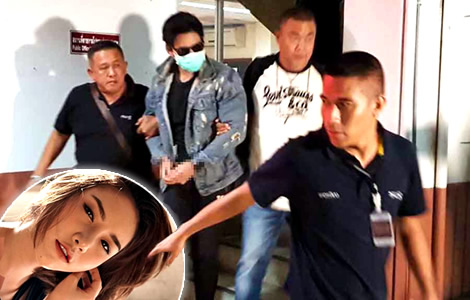 police-arrest-rachadech-wongtabutr-suspect-death-pretty-woman-thitma-condominium-party-nonthaburi