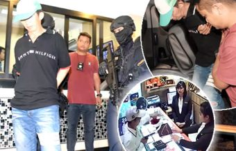 Party over for 45 year old composed armed robber who took ฿4 million in Bangkok gold shop raid