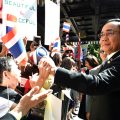 Thai PM gets warm welcome from expats in New York as he visits to speak to the UN this week