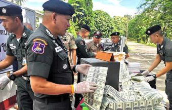 Chiang Rai woman's downfall when fake US dollar purchaser revealed himself as a local police boss