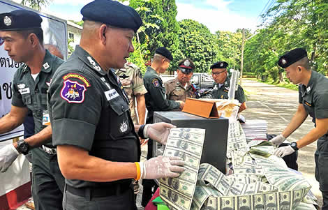 thai-woman-chiang-rai-local-counerfeiting-operation-us-dollar-currency-notes