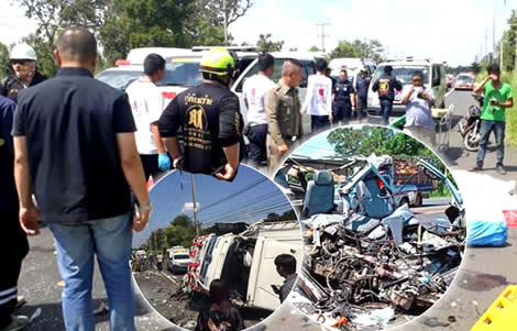 seven-dead-another-passenger-van-accident-ubon-ratchathani-province-hot-truck-four-injured