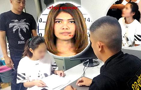 thai-police-arrest-woman-weekend-beer-jiraporn-fraud-easy-money-account-iphones-online-warrants