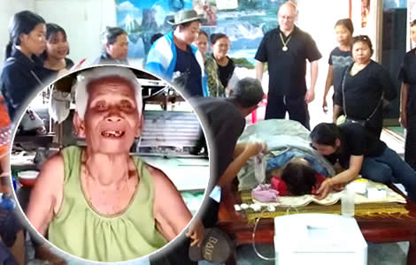 thai-woman-dead-back-to-life-home-family-hospital-coffin-udon-thani-buriram