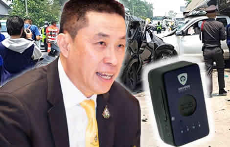 thailand-gps-devices-driver-road-vehicles-transport-minister-world-first-accidents