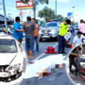 74-year-old UK man dies in another Pattaya motorcycle smash on a busy highway this Wednesday