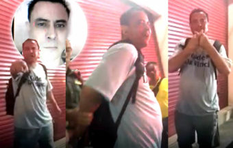 An American nutcase in Thailand insults locals, harasses a local restaurant in Chiang Mai