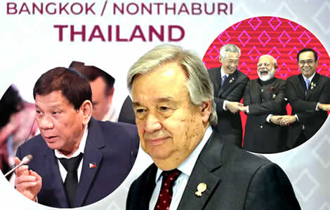 asean-summit-bangkok-un-secretary-general-fractured-world-trade-deal-president-climate-change