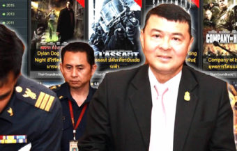 Thai owned pirate movie website closed down by DSI police one of the biggest in the world