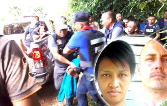 American escapee tried to kill his wife as police net closed on them in Sa Kaeo province as manhunt ended