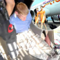 Westerner may face 7 years in prison for yanking open aircraft door as it taxied for takeoff
