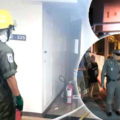 Norwegian dies from smoke inhalation after fire erupts at 16th story Pattaya condo building