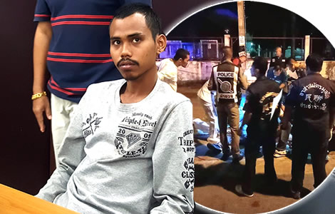 knife-man-arrested-police-nakhon-si-thammarat-killing-27-year-old-sawit-maneechai-birthday