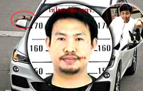 murder-chiang-mai-police-thai-woman-wannee-jiracharoenying-driver-killer-money-bmw-car