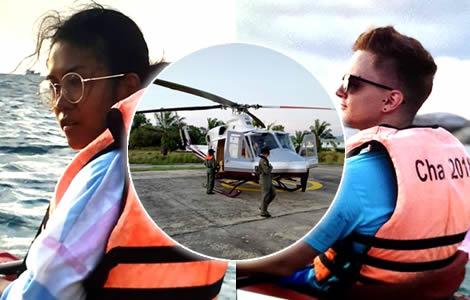 phuket-search-missing-friends-polish-man-mateusz-juszkiewicz thai-woman-kayaking-police