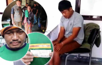 Thai man's bad fortune after winning ฿6 million on the lottery last year ends in police handcuffs in Sisaket