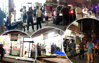 Thai man guns down love rival and flees the scene leaving ex-girlfriend behind as a witness to murder