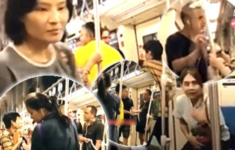UK bully attacks Thai man on the MRT in Bangkok for knocking over his iPhone despite an apology