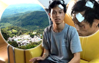 Chiang Mai student says he was brutally beaten by Europeans with a stick and robbed last Wednesday