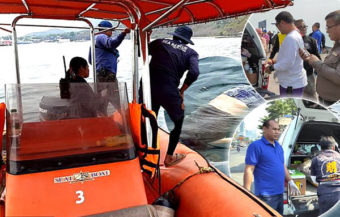 Pattaya police probe death of a western man in his 50s found at sea with an 8 kg rock tied to his neck