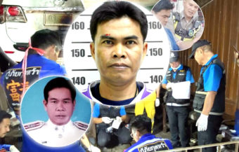 Senior police officer murdered and sexually mutilated by jealous husband in Kalasin province