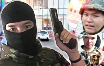 32 year old rogue soldier who attacked Shopping Centre in Korat is killed in ferocious 9 am shootout