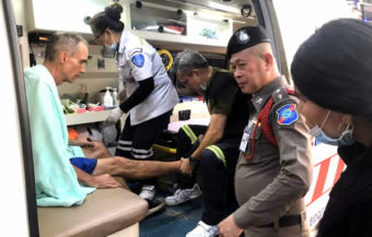 American rescued by police and park officials at Phuket beach beauty spot after getting lost in beach side forest