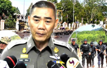 Bomb attack on Yala government offices in retaliation for casualties inflicted by Thai forces on the BRN