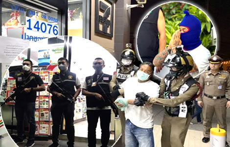 police-pattaya-roger-wasuwat-7-eleven-armed-robbery-us-thai