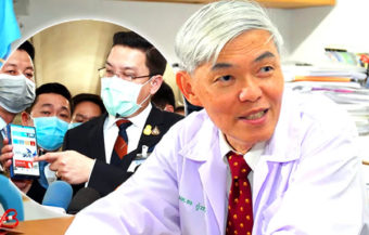 Another record rise in infections on Monday as top virologist predicts widespread transmission in Thailand