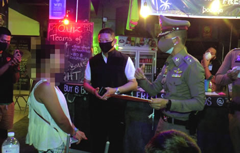 hotel-foreigners-ko-samui-20-arrested-attempted-flee-police-virus-laws