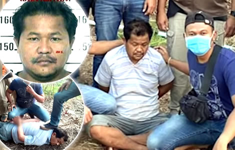 police-arrested-man-two-murders-nakhon-ratchasima-ex-wife