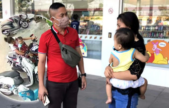 Unemployed mother charged with theft of money and a wallet to buy milk for her baby in Khon Kaen