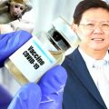 Minister reports encouraging news as national vaccine goes forward to the next stage in trials on monkeys