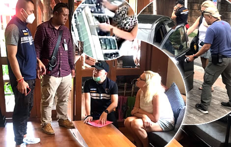 aussie-woman-emily-catherine-arrested-police-chiang-mai-sunglasses-handbag-theft
