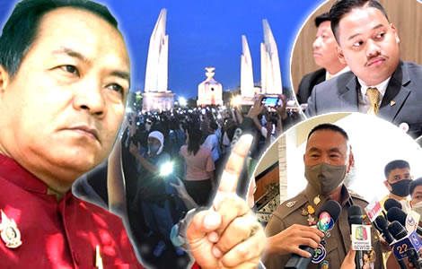 police-investigate-student-protests-bangkok-weekend-call-urgent-legal-action