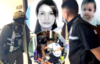 Russian woman arrested for suspected filicide in Pattaya after surviving 3rd-floor condo jump