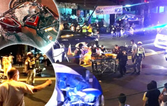 Austrian dies in Phuket motorbike smash after passenger van collision – alcohol tests ordered in police probe
