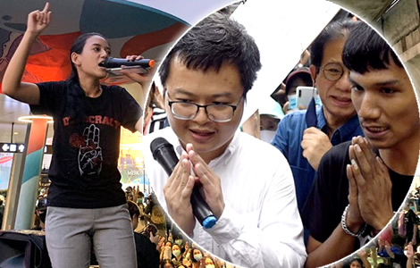 bailed-protest-leader-activist-arnn-nampa-chiang-mai-defiance-of-court-ban