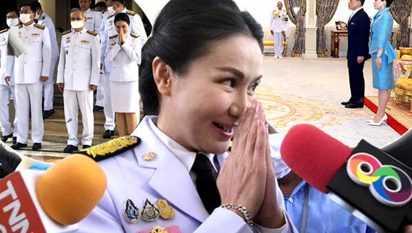 New ministers take the reins in a formal audience with King Rama X & Queen Suthida at Dusit Palace
