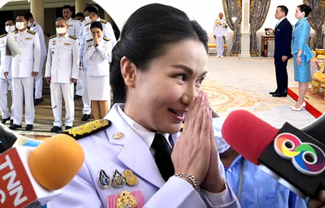 new-ministers-take-oaths-formal-audience-with-king-rama-x-and-queen-suthida