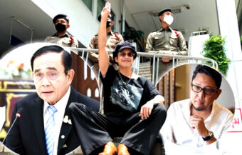 Prayut says students being bullied into protests as more of the movement's leaders face charges