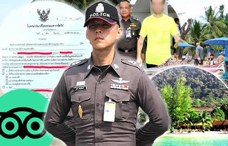 American Waging A Campaign Against A Ko Chang Hotel Shocked As Police Arrest And Jail Him For Defamation Thai Examiner
