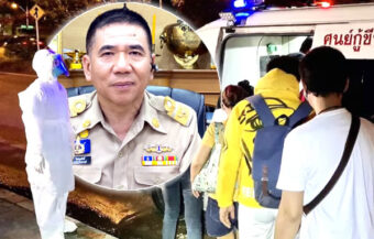 Bangkok inmate tests positive for the Covid 19 virus making it the first local case in over 100 days in Thailand