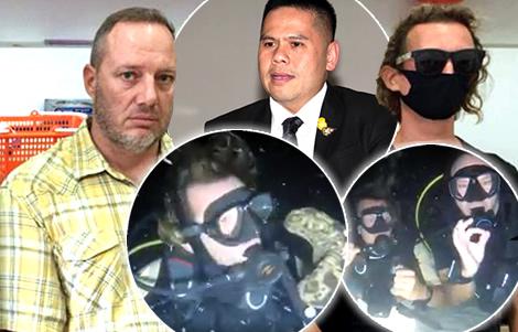 fun-loving-western-men-foreigner-ko-phangan-arrested-for-underwater-antics-protected-area