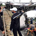 18 dead in bus rail crash in Chachoengsao province early on Sunday morning with over 40 injured