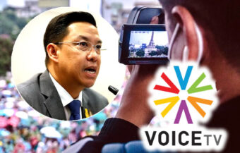Voice TV ordered shut by a Thai court as action against media outlets proceeds despite assurances