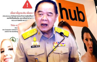 Pornhub is shuttered in Thailand as Ministry blocks access online to its 10th largest market in the world