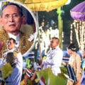 Public in Bangkok in stirring show of support for the monarchy on King Bhumibol's birthday, December 5th